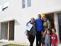 Entrega de 16 viviendas para familias que estaban en situación de inundabilidad sobre el río Uruguay
