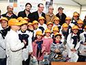 Autoridades nacionales visitan la escuela n.º 94 ubicada en Puntas de Tacuarí