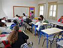 La escuela cuenta con nuevos salones más luminosos y con aire acondicionado
