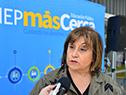 Directora del Consejo de Educación Inicial y Primaria, Irupé Buzzetti