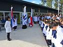 Inauguración de la escuela n.º 16 de la ciudad de Treinta y Tres