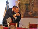 Visita del canciller Rodolfo Nin Nova a la República Argentina