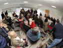 Conferencia de prensa de autoridades