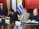 Firma del convenio sobre seguridad social entre Uruguay y Corea del Sur