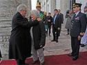 Tabaré Vázquez y Lucía Topolansky encabezaron el acto en conmemoración del 189.° aniversario de la Jura de la Constitución