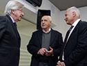Danilo Astori, Víctor Rossi y Juan Notaro