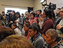 Autoridades rinden cuentas a la población en ciudad de Dolores