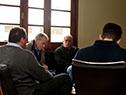 Murro mantuvo reuniones con la liga comercial y empresarial de Dolores y con ejecutivos de Molino Dolores