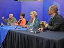 Conferencia de prensa de autoridades en el marco de las actividades del Gobierno de Cercanía