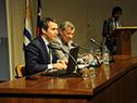 Rodolfo Nin Novoa, en actividad sobre relaciones comerciales entre Uruguay y Chile