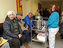 El Hospital de Ojos cuenta con un servicio de té y café durante las esperas