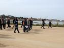 Lanzamiento de obras de puerto pesquero Capurro