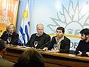 María Julia Muñoz, Ernesto Murro, Eduardo Pereira y Federico Barreto