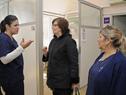 Ministra Marina Arismendi visitó la Maternidad del hospital Artigas