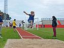 Inauguración de nueva pista de atletismo ubicada en el estadio del Complejo Deportivo Municipal de Durazno