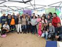 Inauguración y entrega de viviendas del Plan Juntos en Barrios Unidos, en el área metropolitana de Montevideo