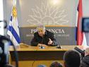Conferencia de prensa del exmandatario José Mujica