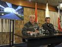 Ministro Víctor Rossi en conferencia de prensa