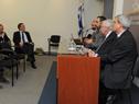 Subsecretario del Ministerio de Economía y Finanzas, Pablo Ferreri, haciendo uso de la palabra