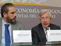 Ministro de Economía y Finanzas, Danilo Astori, dirigiéndose a los presentes