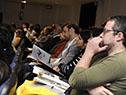 Apertura del seminario sobre Movilidad y Equidad Territorial, desarrollado en el Salón de Actos de la Torre Ejecutiva