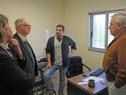 Ministro de Salud Pública, Jorge Basso, encabezó visita y recorrida a Ppoliclínica de Santa Rosa