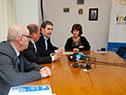 Firma de convenio laboral entre INAU y la Dirección Nacional de Loterías y Quinielas