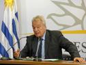 Ministro interino de Salud Pública, Jorge Quian, en conferencia de prensa tras la finalización del Consejo de Ministros