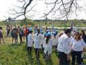 Participaron estudiantes de la localidad, invitados para conocer más del cuidado del medio ambiente