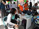 Hospital de Ojos realizó chequeos oftalmológicos gratuitos en plaza Seregni