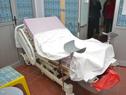 Instalaciones del hospital de Rocha