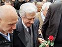 El presidente Vázquez participó en las honras fúnebres a Eduardo Bleier