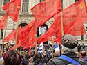 El pueblo uruguayo despidió a Eduardo Bleier, en el paraninfo de la Universidad de la República
