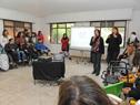 Autoridades encabezadas por ministra Marina Arismendi, visitaron primer centro de Uruguay para atender a jóvenes con multidiscapacidades