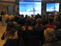 Conferencia y reconocimiendo a distinguidos en convocatoria para difusión de actividad antártica uruguaya