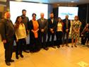 Reconocimiendo a distinguidos en convocatoria para difusión de actividad antártica uruguaya