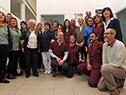 Tabaré Vázquez, Lucía Topolansky y Marina Arismendi visitaron laboratorio de prótesis de Centro Nacional de Ayudas Técnicas y Tecnológicas