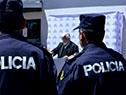Inauguración del circuito de cámaras de vigilancia en el barrio Casavalle, Montevideo