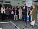 Ceremonia de inauguración de tomógrafo del hospital de Minas