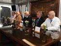 Autoridades celebran los 25 años del CTI del Hospital Policial