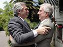 Presidente de la República, Tabaré Vázquez, recibe al mandatario electo de Argentina, Alberto Fernández