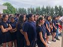 Inauguración de liceo en Juanicó, Canelones