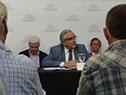 Conferencia del ministro de Ganadería, Agricultura y Pesca, Enzo Benech, sobre la gira por China y Vietnam