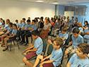 Entrega de Pabellón Nacional a niños y jóvenes de la Federación Uruguaya de Ajedrez