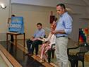 Gerardo Sosa, haciendo uso de la palabra en acto de lanzamiento de sello conmemorativo por Año Internacional de las Lenguas Indígenas