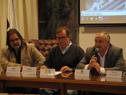 Conferencia de prensa sobre modificación de circulación vehicular por construcción de viaducto en rambla portuaria 25 de Agosto