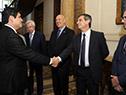 Vázquez recibe al presidente de Costa Rica, Carlos Alvarado