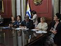 Firma de acuerdo entre Uruguay y Unesco