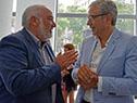 Wilson Netto y Robert Silva