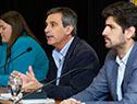 Director de la OPP, Álvaro García, en conferencia de prensa